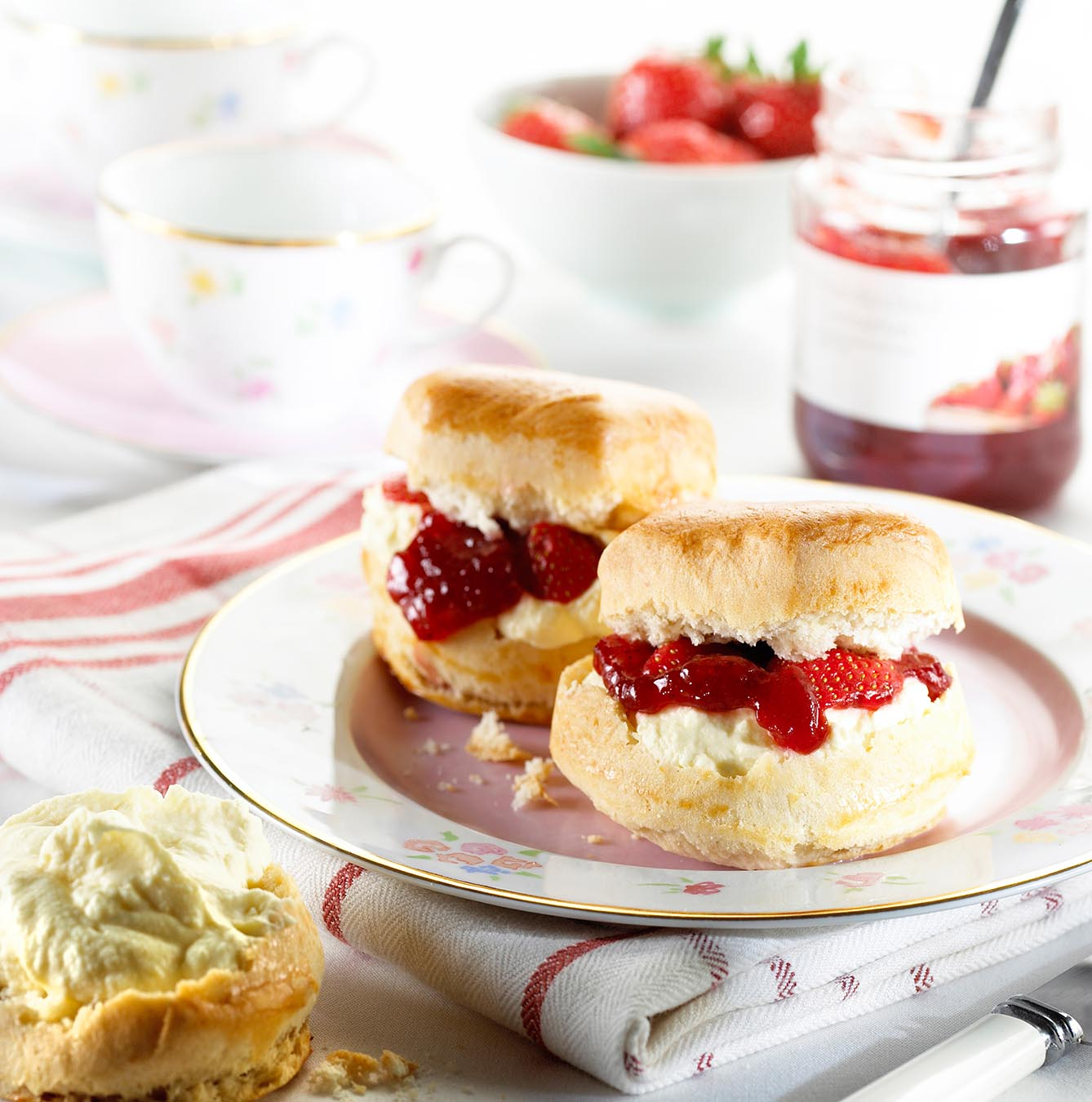 Cream Scones, Shortcake, or Biscuits