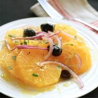 Winter Orange and Olive Salad