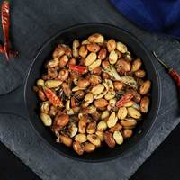 Roasted Peanuts with Rosemary, Garlic, and Chile